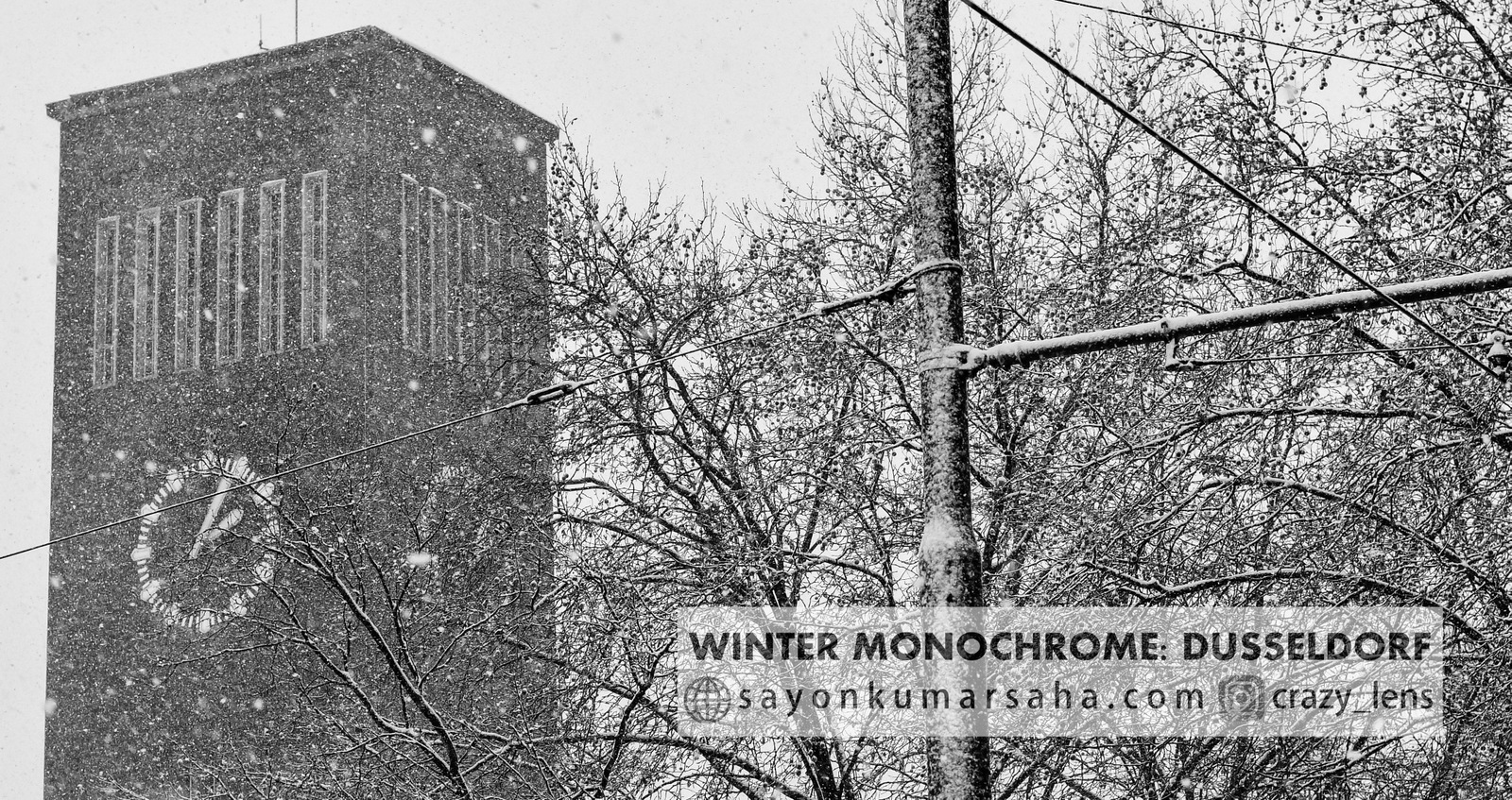 Winter Monochrome: Dusseldorf
