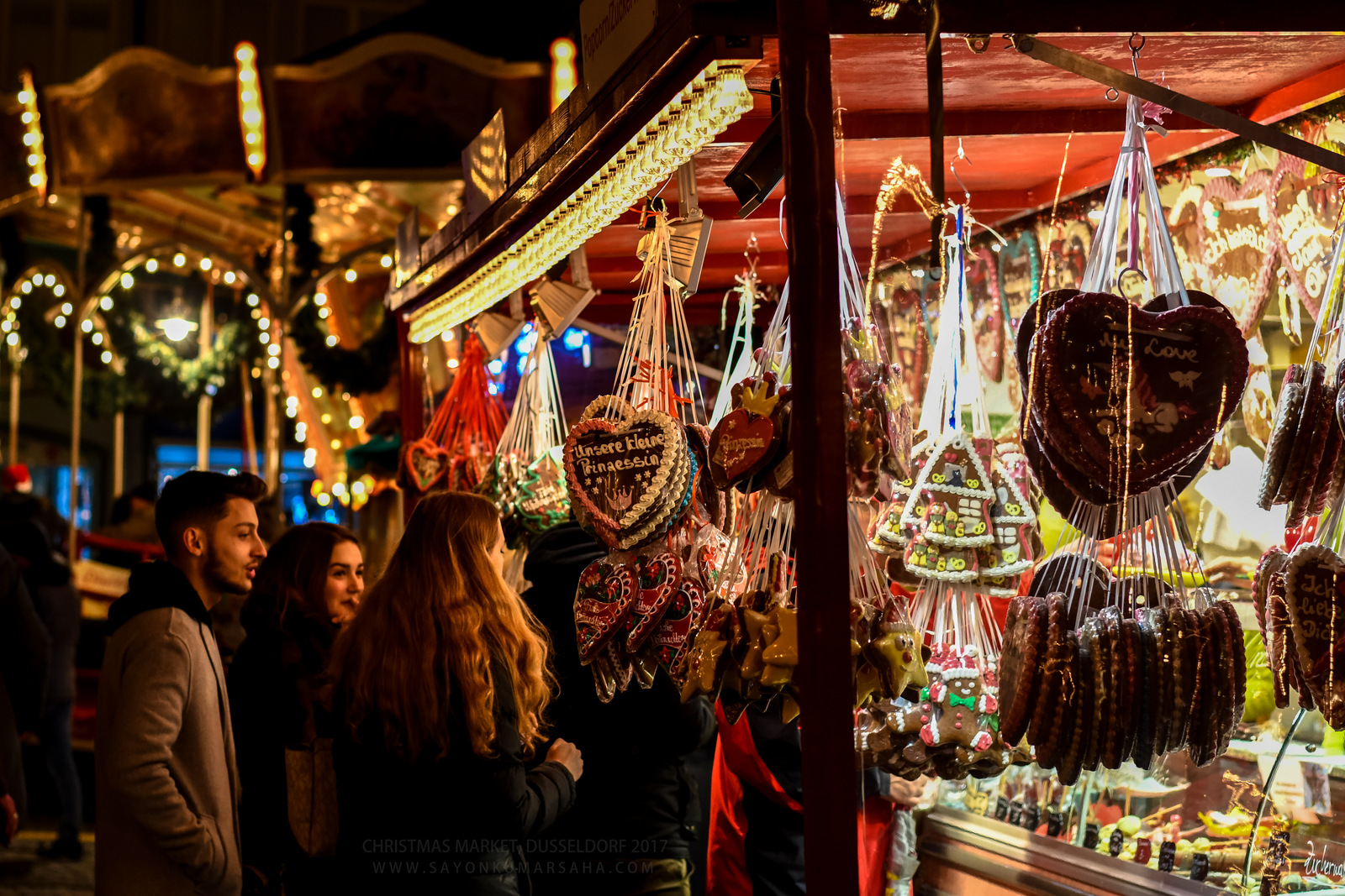 Evening Stories: Düsseldorf Christmas Market