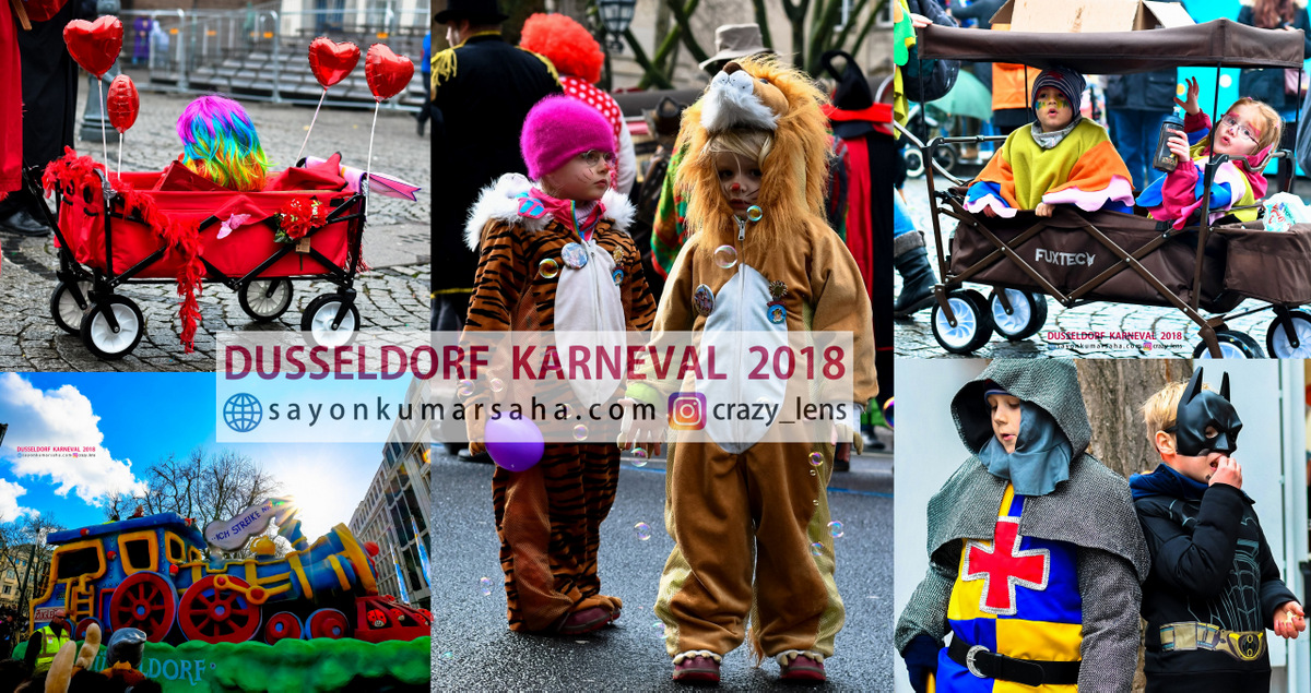 Colors of Düsseldorf: Carnival'18