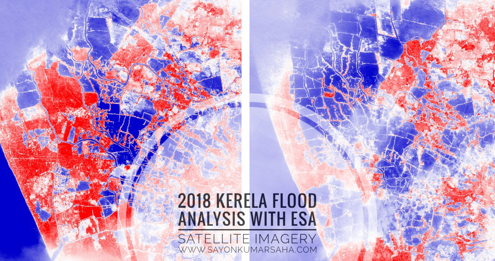 Satellite Imagery Analysis: Kerala Flood