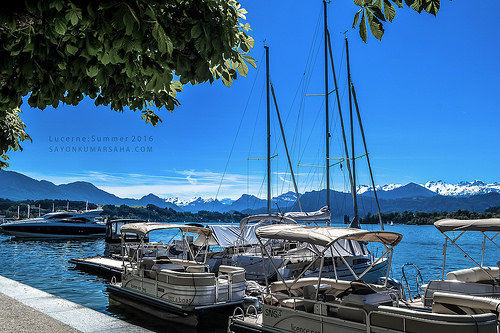Smiling Blue Skies: Lucerne