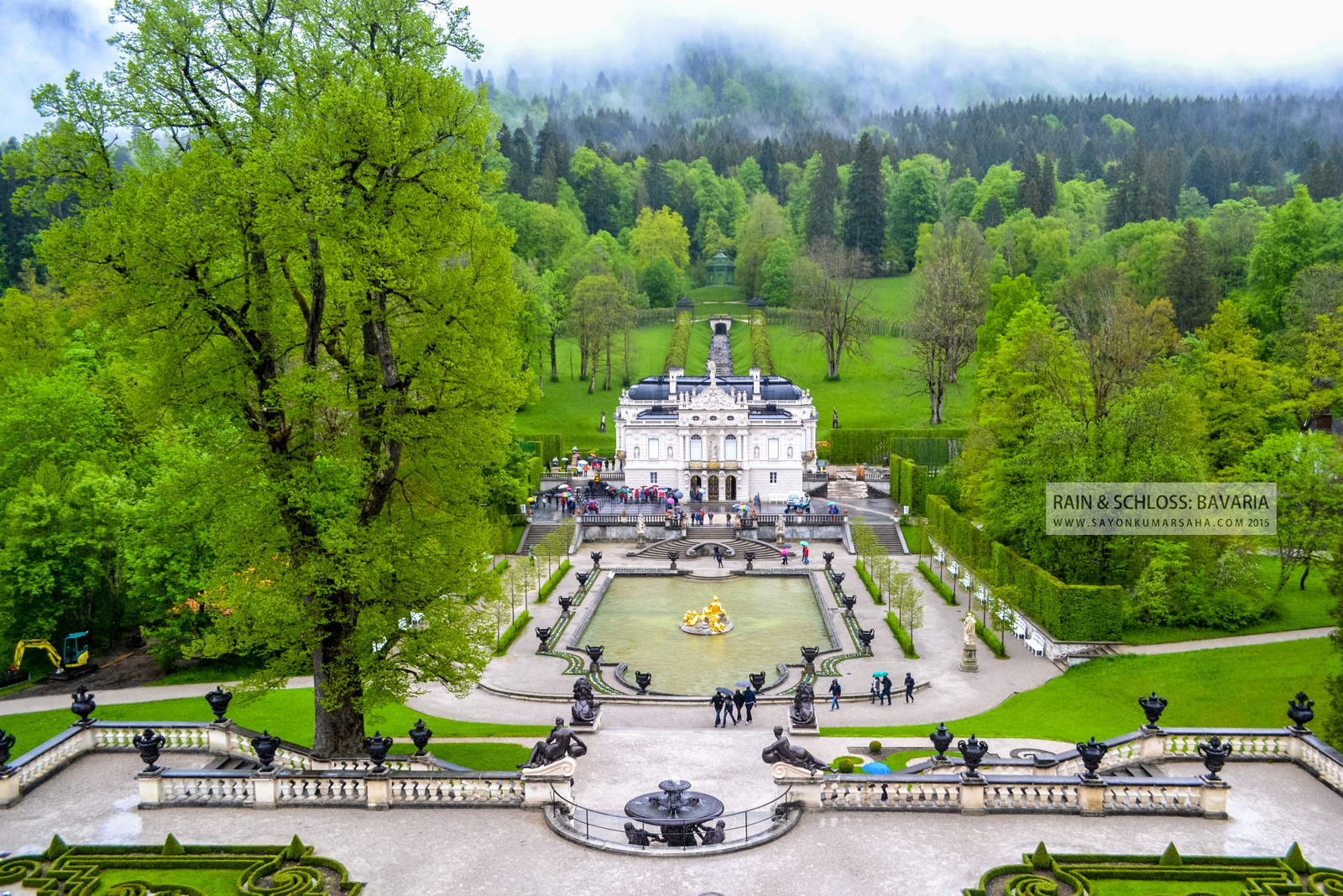 Rain & Schloss: Bavaria