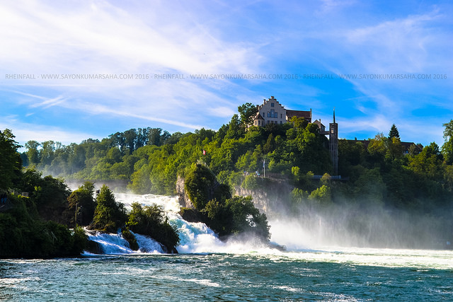Passing by Rheinfall